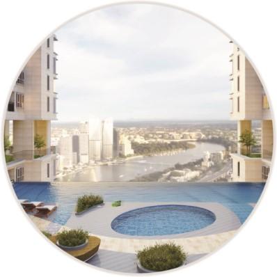 Tiện ích căn hộ The Golden Star Quận 7 hồ bơi sky view tràn bờ