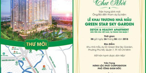 Nhận giữ chổ căn hộ Green Star Sky Garden Quận 7