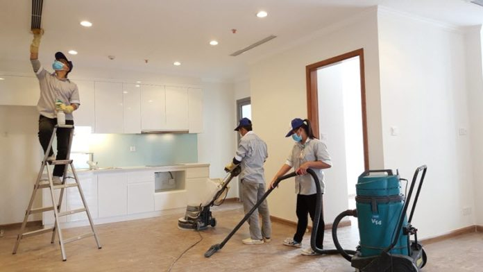 Dịch vụ dọn vệ sinh căn hộ The Golden Star Quận 7